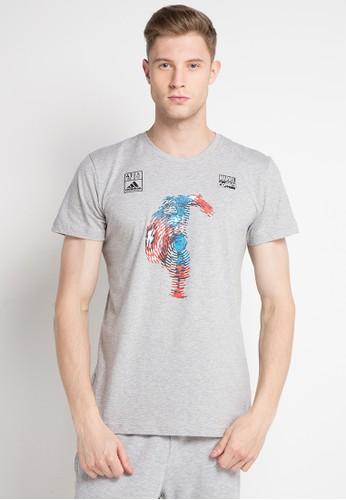 Jual Adidas Adidas Marvel Captain America Tee Original Zalora