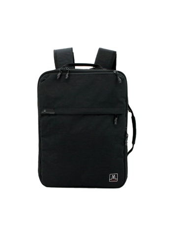 MORAL black Union Convertible Backpack - Raven D40FBAC2CB3ADBGS_1