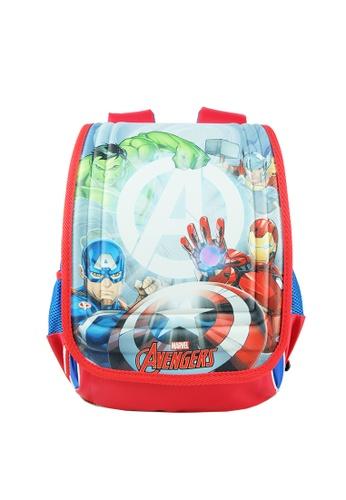MARVEL blue Marvel Avengers VAE1921 14 inch Ergonomic School Bag 13846KC2D3576BGS_1