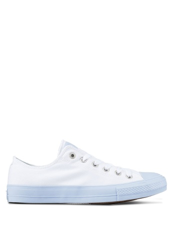 Converse white Chuck Taylor All Star II Sneakers CO302SH0RZNSMY_1