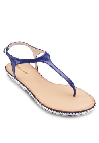 夾趾平底涼esprit 高雄鞋, 女鞋, 涼鞋