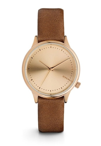 KOMONO brown Estelle Cognac Watch KO163AC0T0TBMY_1