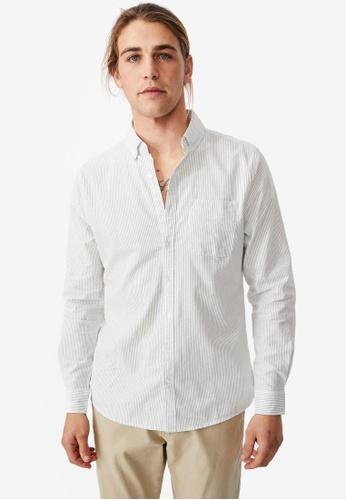 Cotton On white Brunswick Shirt A16FAAA619F541GS_1