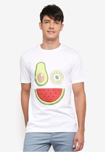 French Connection white Fruit Salad Tee 17607AA92E587EGS_1