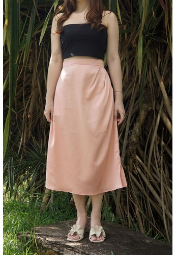 Avore pink Aine Skirt 65AB5AA99449BAGS_1