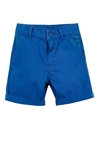 KENZO KIDS blue KENZO BOYS BERMUDAS C85D6KAD490A24GS_1