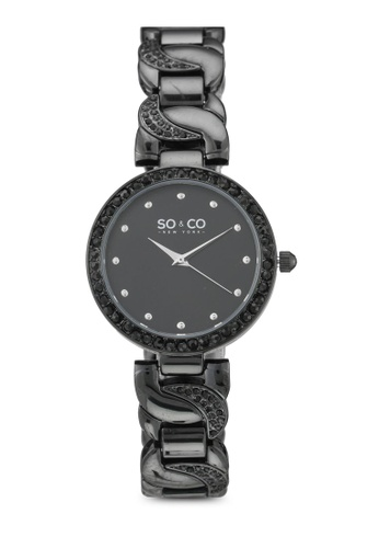 SO&CO black SoHo Watch 5062 14419AC414B656GS_1