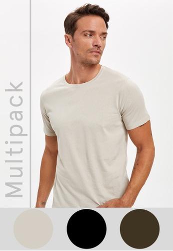 DeFacto multi Man 3 Piece T-Shirt Set 785DFAA75E1E33GS_1