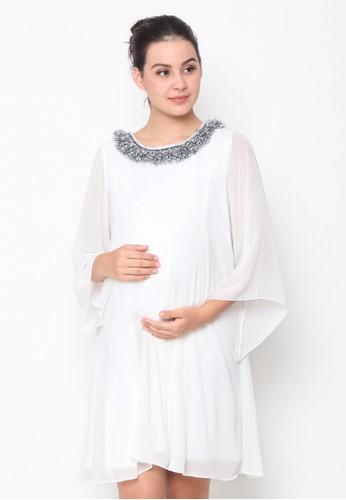 Chantilly white Maternity/Nursing Dress 53035 47D60AA34FA3CCGS_1