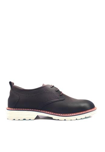 Twenty Eight Shoes 褐色 特色鞋底擦色休閒鞋  VSM-F2002 4F87ASHF642185GS_1