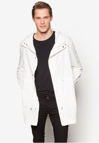 輕量棉質連帽esprit 評價大衣, 服飾, 外套
