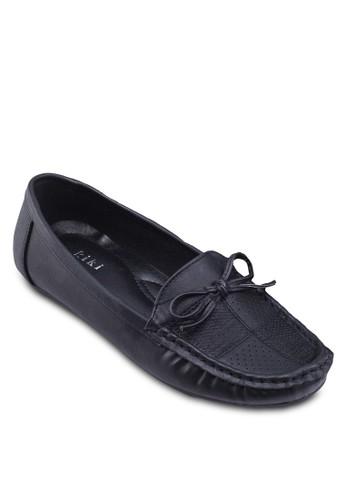 蝴蝶結網眼莫卡辛鞋esprit暢貨中心, 女鞋, 鞋