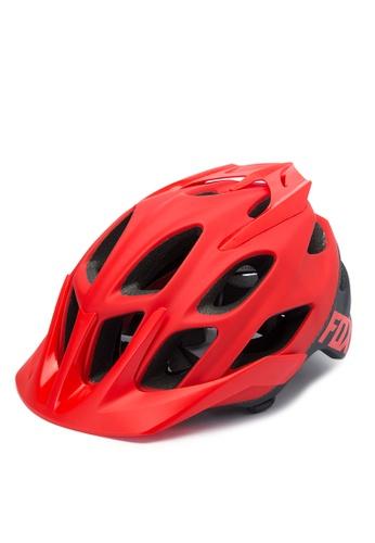 Fox Racing red Flux Helmet FO276AC0JWHIPH_1