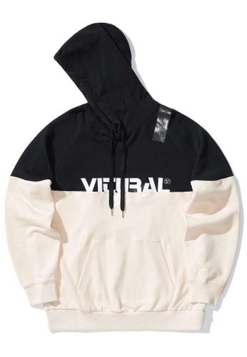 Fivecm black Colour block hoodie C1AE9AA2F33BA9GS_1