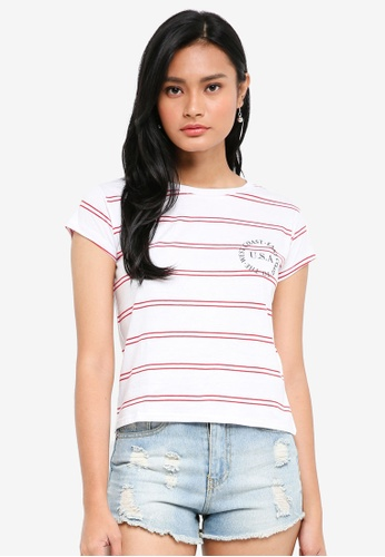 Cotton On white TBar Friends Graphic Tee 3D846AA8F72B88GS_1