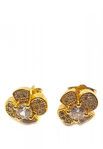 Jewelplace gold Elizabeth Cubic Zircon Earrings JE882AC0KL54PH_1