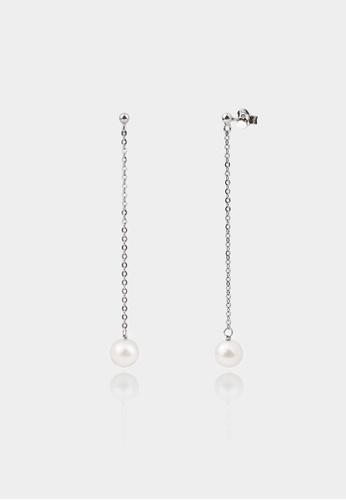 monojewelry GLADA PEARL CHAIN EARRINGS 11B88AC802A0EAGS_1