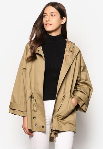 Collection 簡約連帽大衣、 服飾、 夾克 & 大衣ZALORACollection簡約連帽大衣最新折價