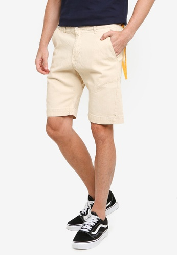 UniqTee beige Summer Denim Shorts With Pocket D0396AA4961FCCGS_1