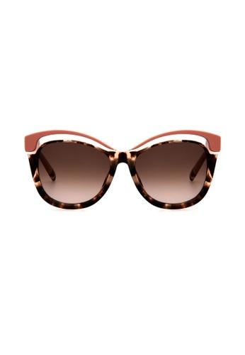 Furla Furla SU4957 Sofia Tortoise/Pink Sunglasses  FU454AC0RAMPMY_1
