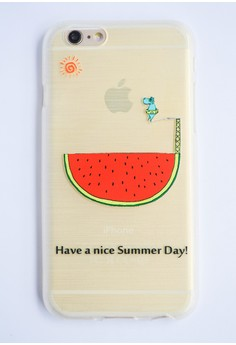 Nice Sumer Day Soft Transparent Case for iPhone 6