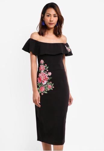 Desigual black Marina Dress 352F8AA0C79D7BGS_1