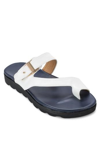 夾趾扣環涼鞋, 女鞋zalora是哪裡的牌子, 涼鞋