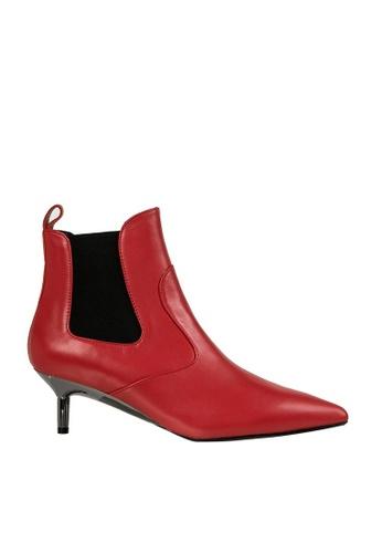 eq:iq red eqEVELYN Kidskin Ankle Boots EQ351SH0FVB6SG_1
