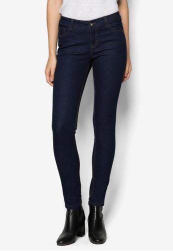 貼身窄管牛仔褲, 服飾,zalora時尚購物網的koumi koumi 緊身牛仔褲