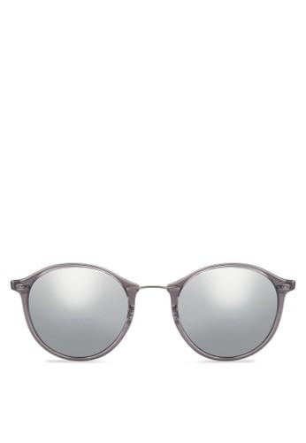 RB4242 圓框zalora 衣服尺寸太陽眼鏡, 飾品配件, 飾品配件