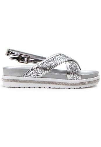 Crystal Korea Fashion silver Korean Summer Sequined Platform Sandals C3822SH3912682GS_1