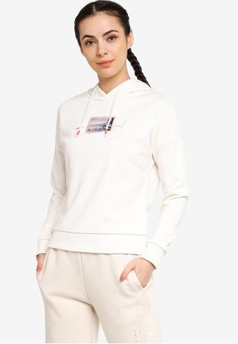 361° white Sports Life Hoodie D9194AA68CB527GS_1