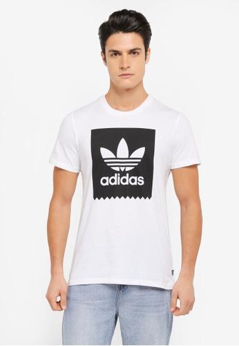 adidas white adidas solid bb tee AD372AA0SUY2MY_1