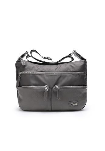 DUSTY grey TC-Shlouder Bag C019CAC79EC6A6GS_1