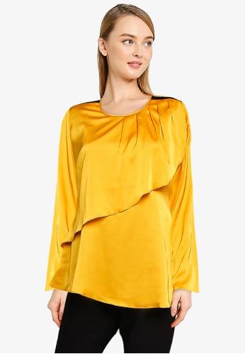 Aqeela Muslimah Wear yellow Nursing Basic Top E4617AA25AA760GS_1