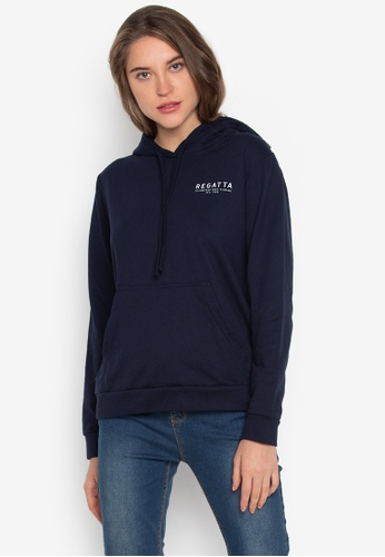 REGATTA blue French Terry Pullover F89FEAA108F4DAGS_1