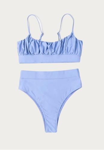 Bluepalm blue Malapascua in Blue Two-Piece Swimsuit 478F2US2BC428EGS_1