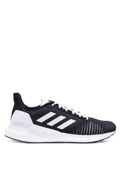 huge discount d2696 1e249 adidas black adidas performance solar glide st sneakers 694B7SHDACE458GS1