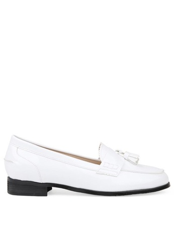 SPUR white Tassel penny loafer F9F21SHFA54F8AGS_1