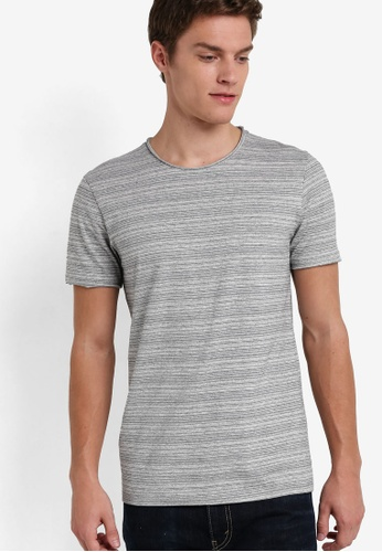 Selected Homme grey Short Sleeve Tee SE364AA92QVBMY_1