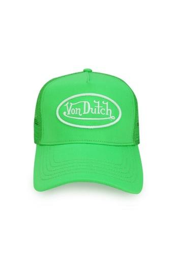 Von Dutch green Von Dutch Original Slime Lime Trucker Cap 6BDBAACBD4C9F0GS_1