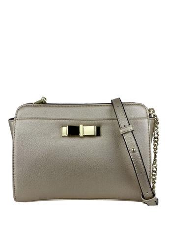Mel&Co gold Faux Leather Sling Bag CCCA8AC4D04667GS_1