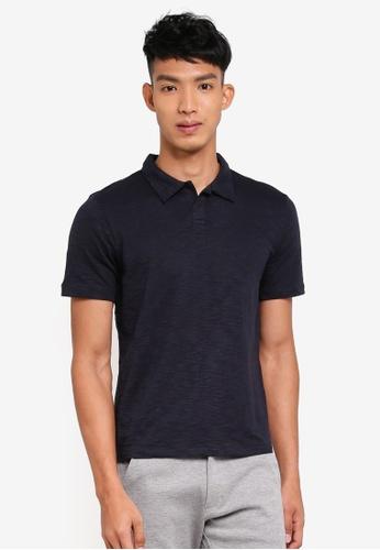 Jack & Jones navy Short Sleeve Polo Shirt 15E16AA8AE9DA8GS_1