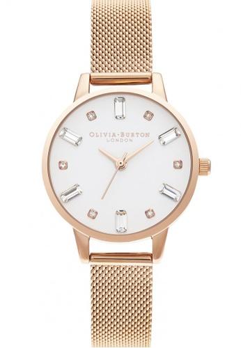 Olivia Burton gold Olivia Burton Bejewelled  Rose Gold Unisex Watch (OB16BJ02) 6ACB8AC5ED6DB3GS_1