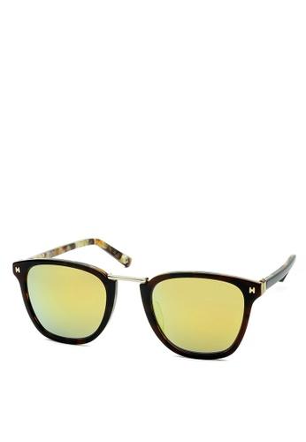 HEX EYEWEAR multi and beige and brown Dealer - Viktor B. - Sunglasses - Italy Design HE671AC2V1LAHK_1