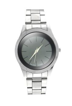 KNUODE Classic Women's Silver Stainless Steel Strap Wrist Watch K1026
