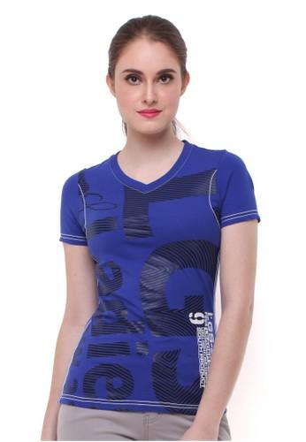 LGS blue LGS - Slim Fit - Kaos Wanita - Biru Gelap - Logo LGS 0FB69AAABE70B8GS_1