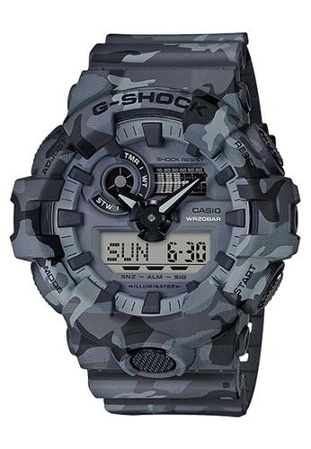 CASIO multi Casio G-Shock Grey Camo Resin Watch 14AF4ACB71C35DGS_1