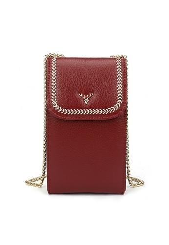 HAPPY FRIDAYS Stylish Leather Chain Shoulder Bags JN33 B1BE3AC6F9B2A0GS_1