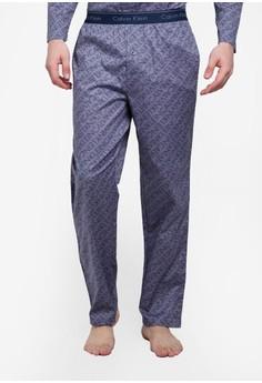 Calvin Klein-印刷 Pajama Pants